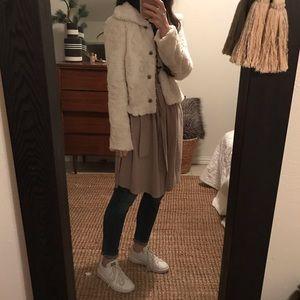 AMBIANCE Faux Fur Jacket